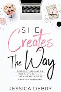 she creates the way book