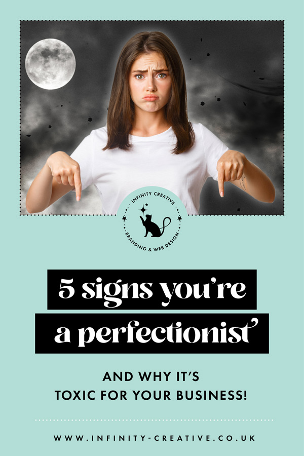 5 signs you're a perfectionist