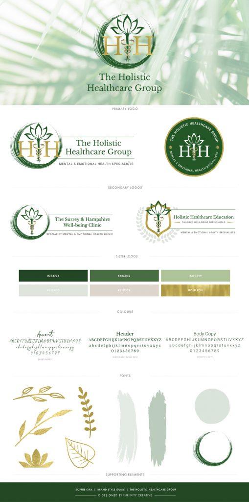 mental health holistic healthcare branding