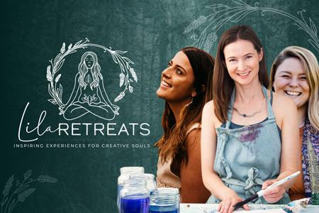 lila retreats branding